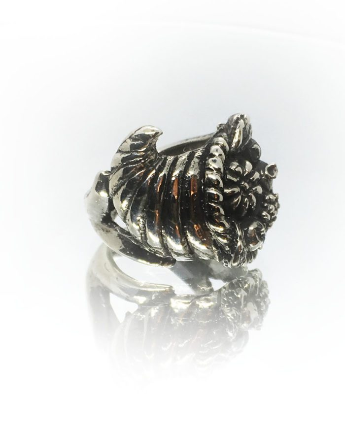 Thanksgiving Sterling Silver Ring 4