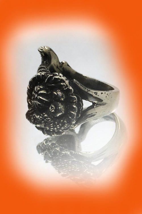 Thanksgiving Sterling Silver Ring