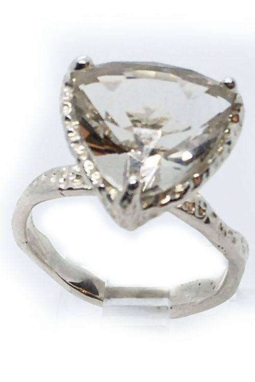Topaz Stone 925 Sterling Silver Ring
