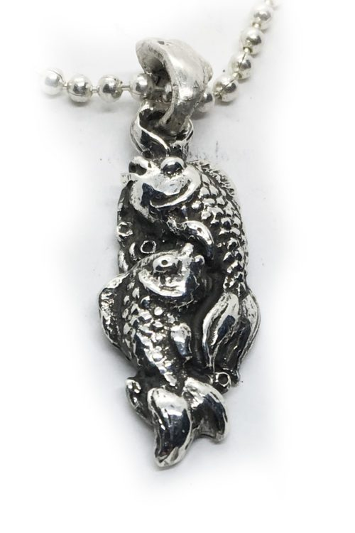 Sterling Silver Fish Pendant Pisces