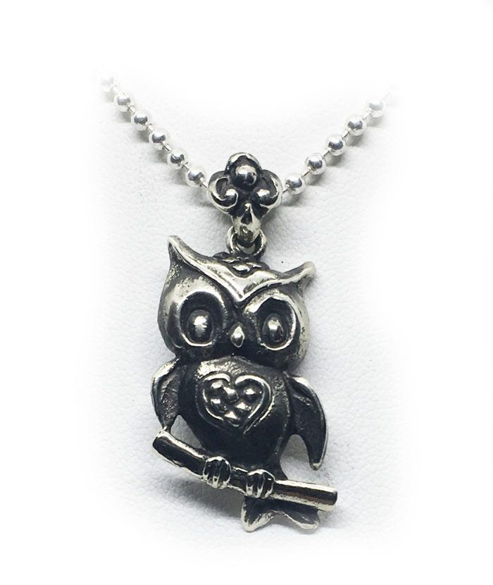 lovely owl silver image