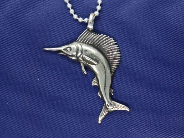Sailfish Sterling Silver Pendant