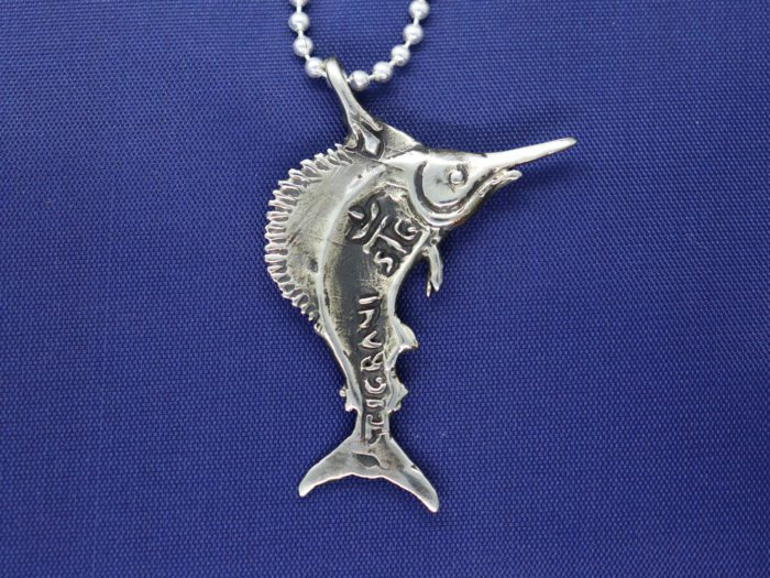 Sailfish Sterling Silver Pendant 2