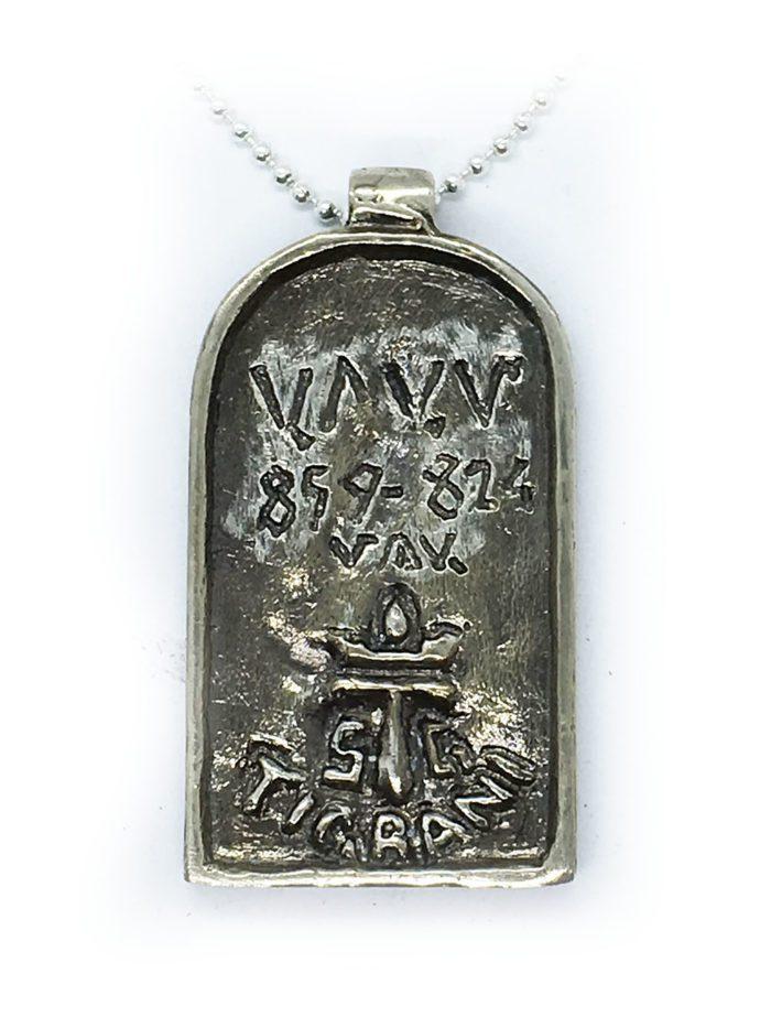 God Aram Sterling Silver Pendant 2