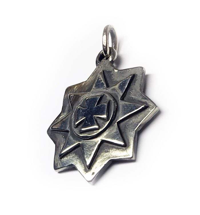 Ancient Sterling Silver Pendant 2