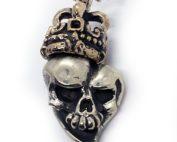 Jokers Love Skull with Crown