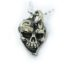 Jokers Love Skull Sterling Silver Pendant 1