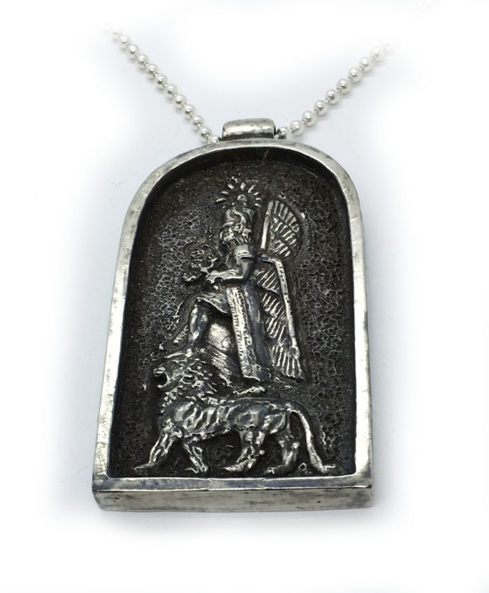 God Haldi Sterling Silver Pendant 1