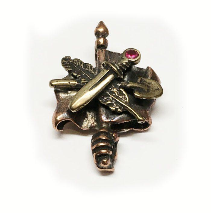 ArmRevDashnak Bronze Pendant