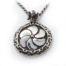 Eternity Silver Pendant v2