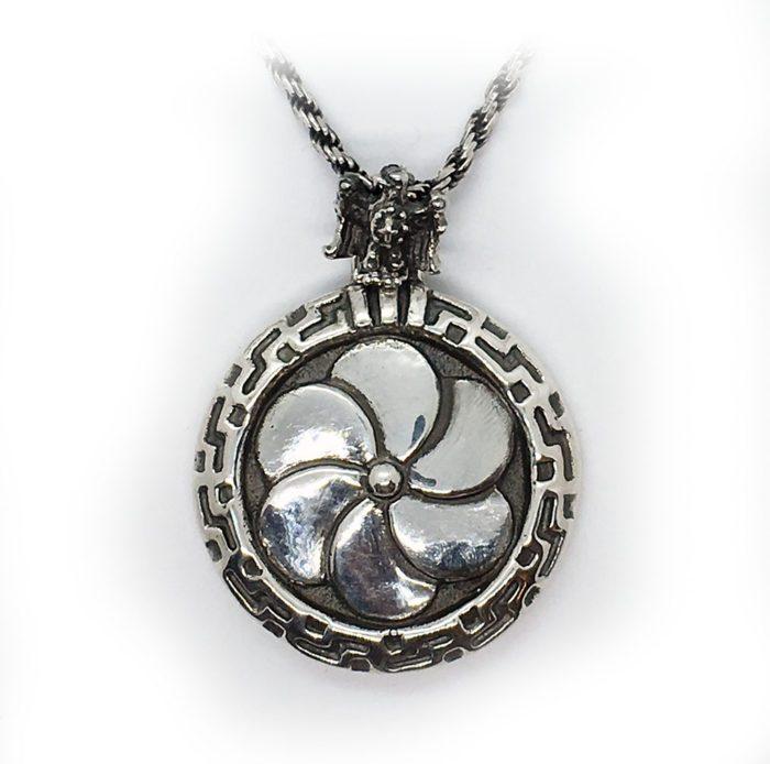 1 Eternity Silver Pendant v2