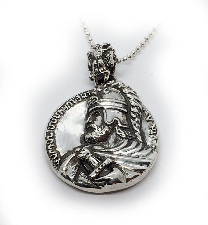 Vardan Mamikonian Sterling Silver Pendant 1