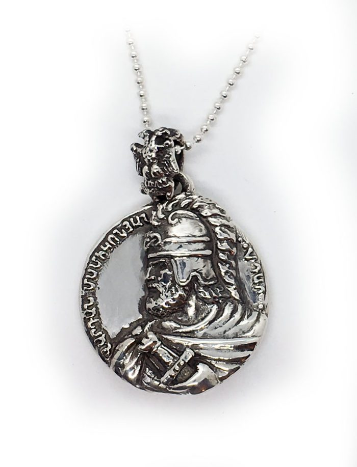Vardan Mamikonian Sterling Silver Pendant
