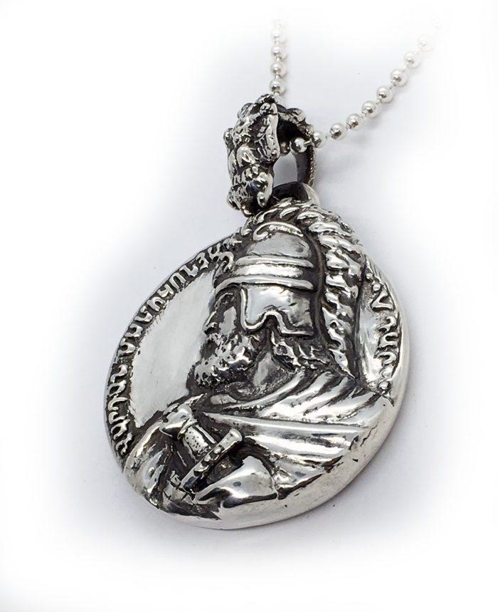 Vardan Mamikonian Sterling Silver Pendant 2