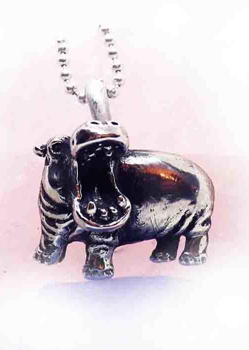 hippo pendant