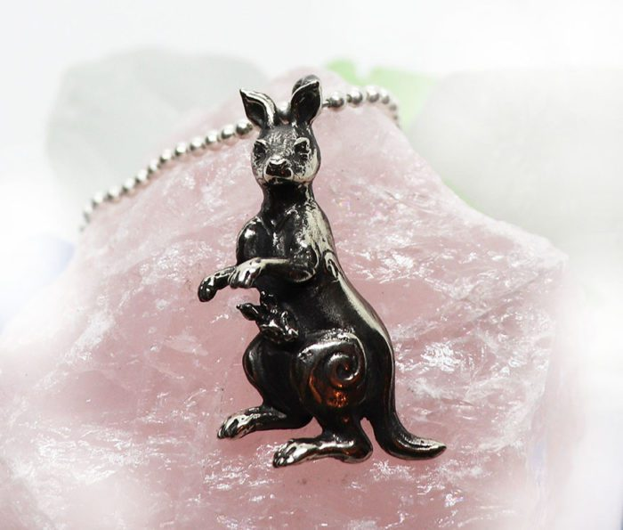 kangaroo pendant