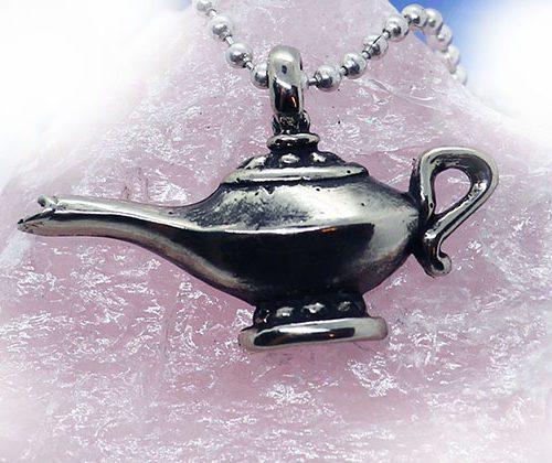 Tigrani Magic Lamp Silver Pendant