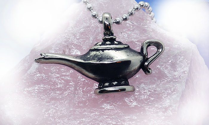 Magic Lamp Silver Pendant