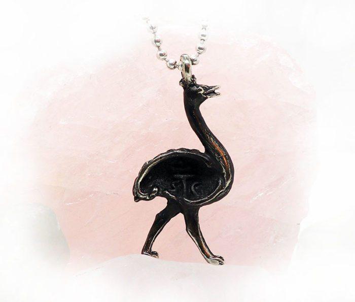 Ostrich Pendant 2
