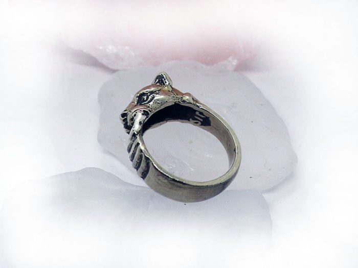 Dog Silver Ring 2