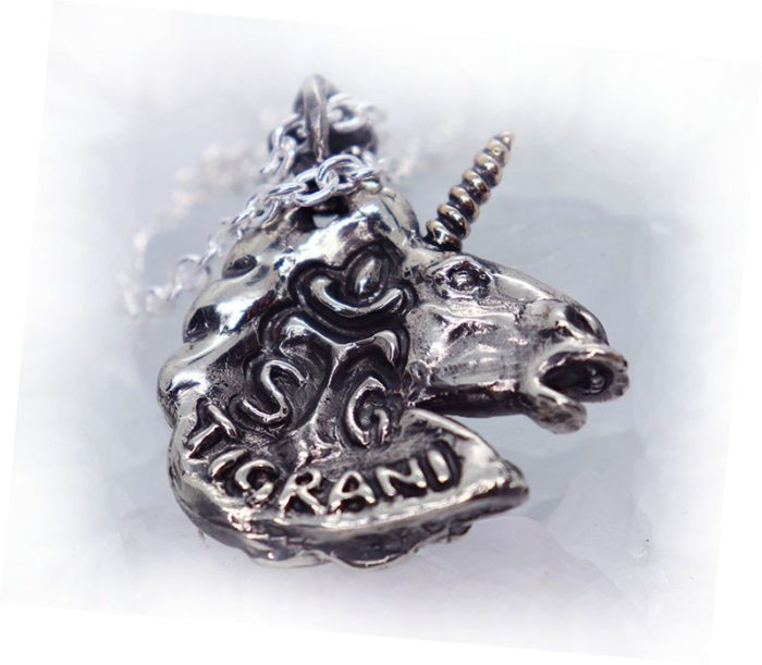 Unicorn Pendant 3