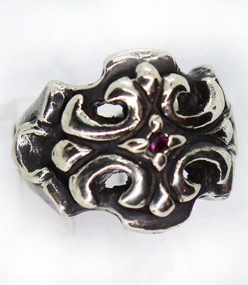 Cross Design Ring
