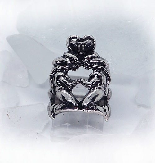 Gemini Sterling Silver Ring