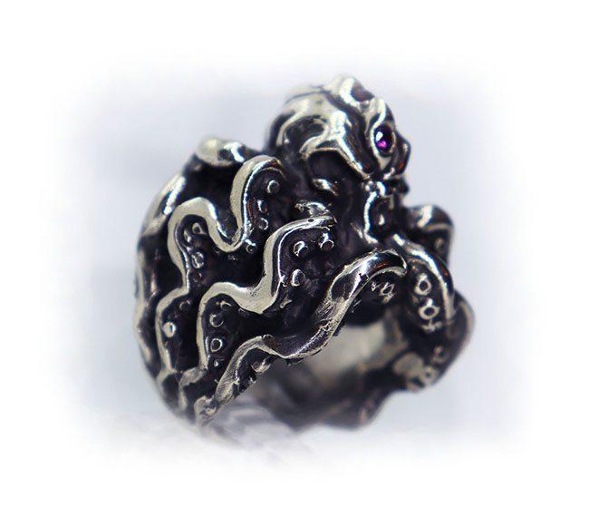 Octopus Ring 5