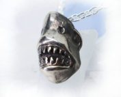 Shark Face Pendant