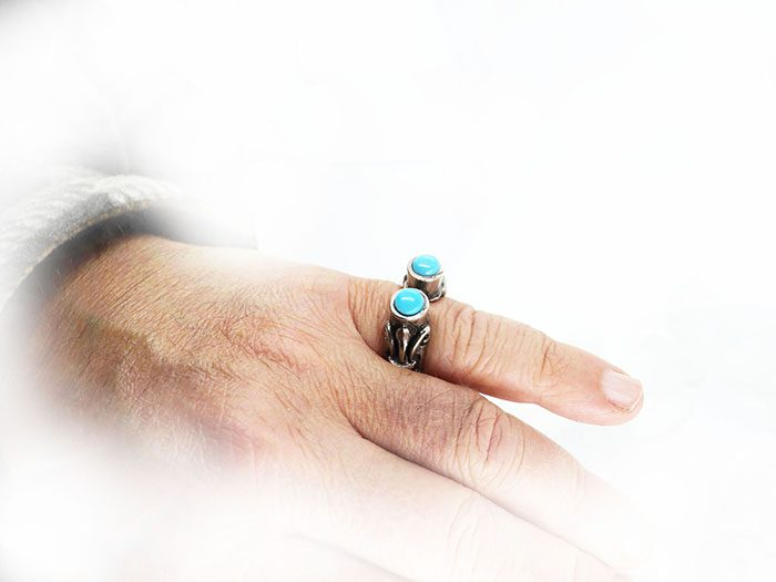 VintageTurquoise Ring 3