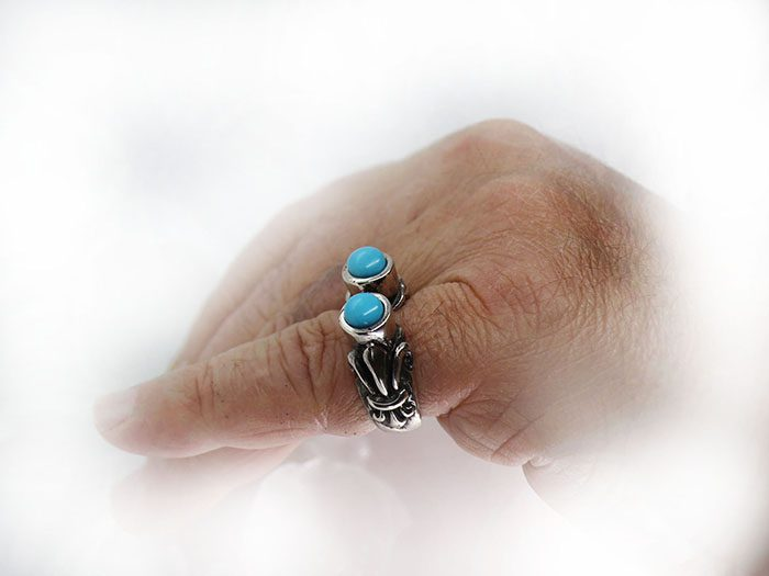 VintageTurquoise Ring 4
