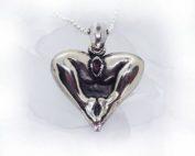 Vagina Heart Pendant