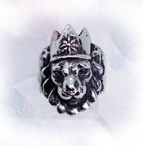 Crown Lion King Ring