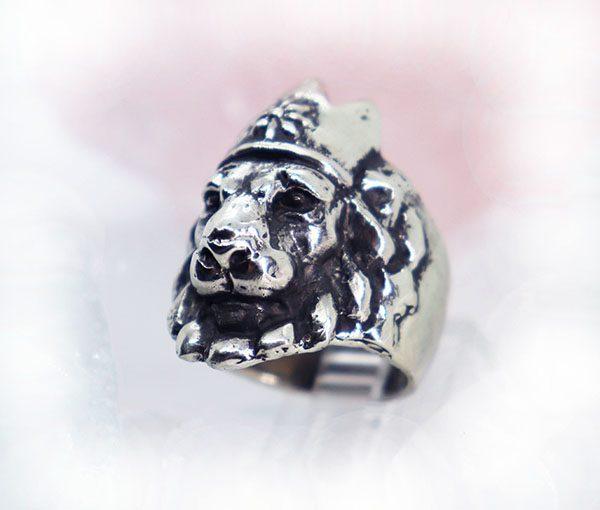 Crown Lion King Ring 2