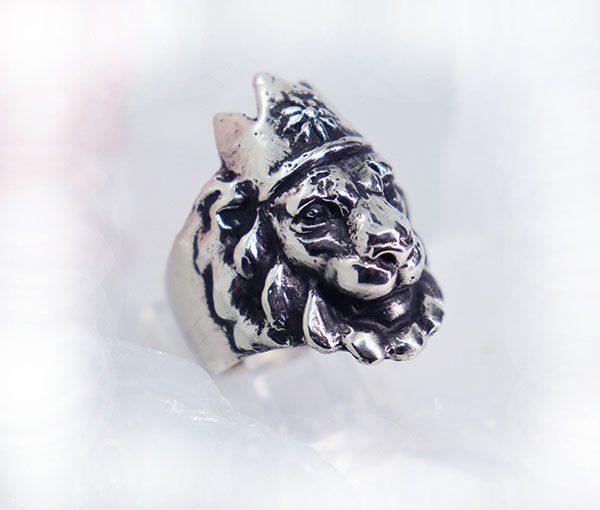 Crown Lion King Ring 3