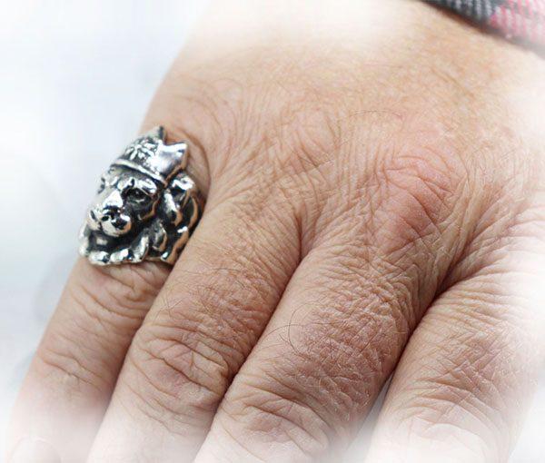 Crown Lion King Ring 4