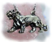 Female Lion Sterling Silver Necklace
