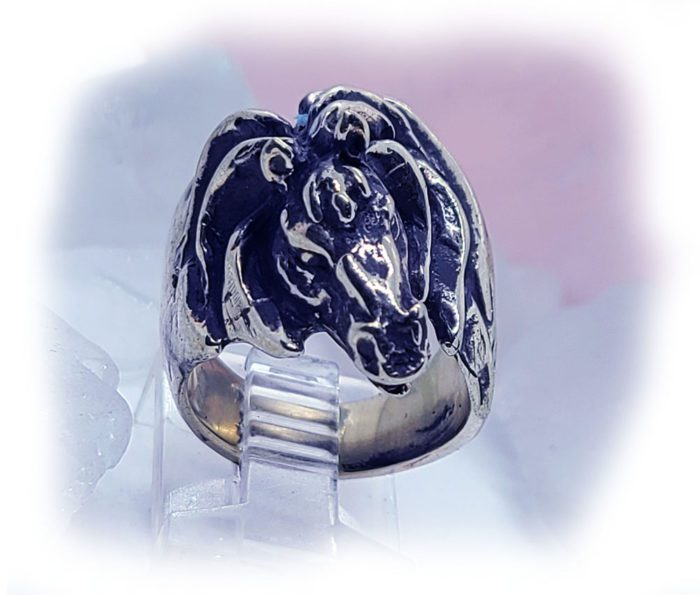 Horse Sterling Silver Ring 2