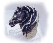 Horse Sterling Silver Ring