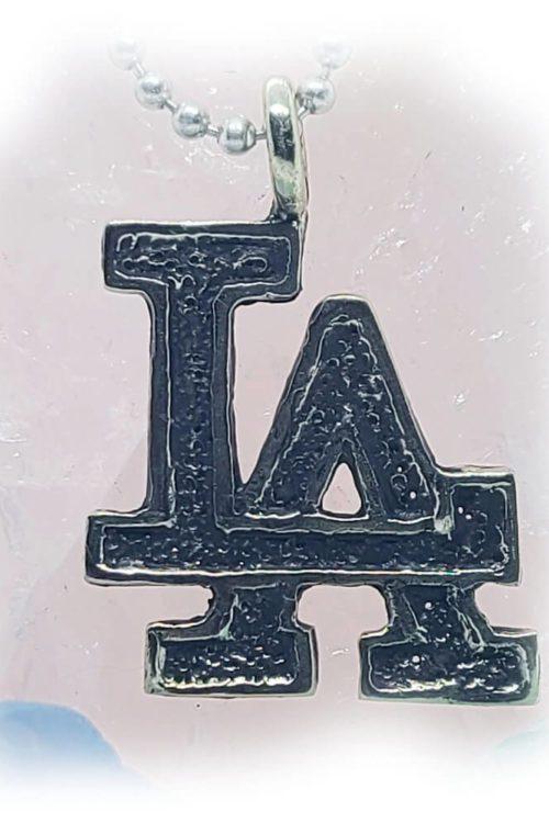 LA Silver Pendant V1