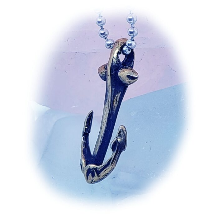 Anchor Sterling Silver Pendant 2