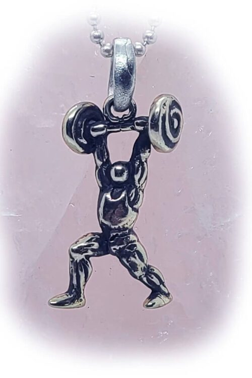 Bodybuilding Champion Pendant
