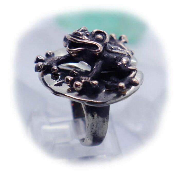 Frog Lily Pad Ring V1 2