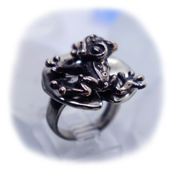 Frog Lily Pad Ring V1 3