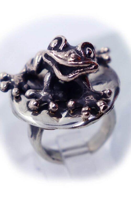 Frog Lily Pad Ring V2