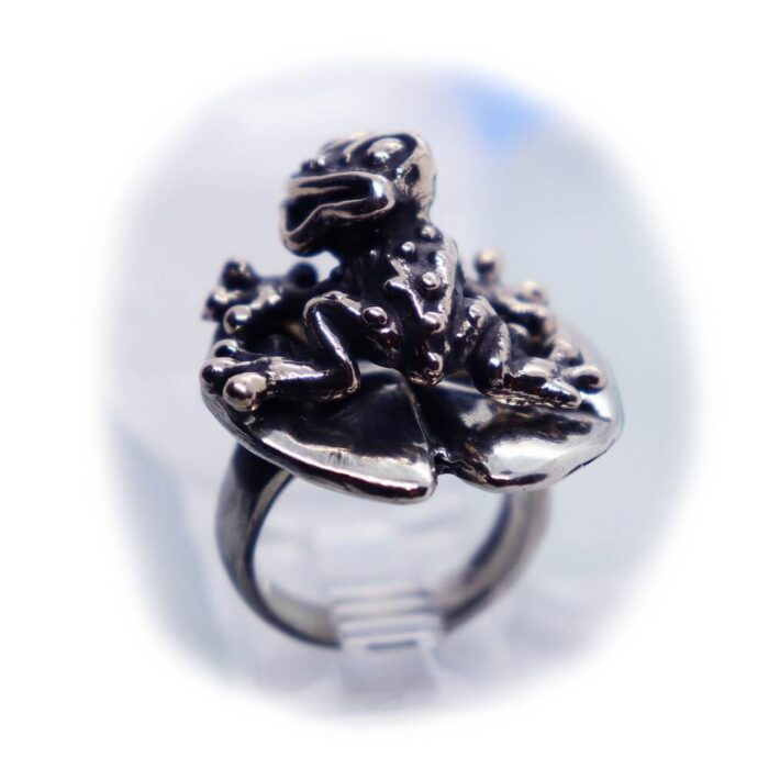 Frog Lily Pad Ring V3 3