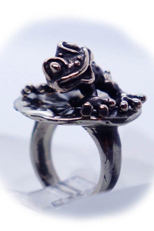 Frog Lily Pad Ring V3