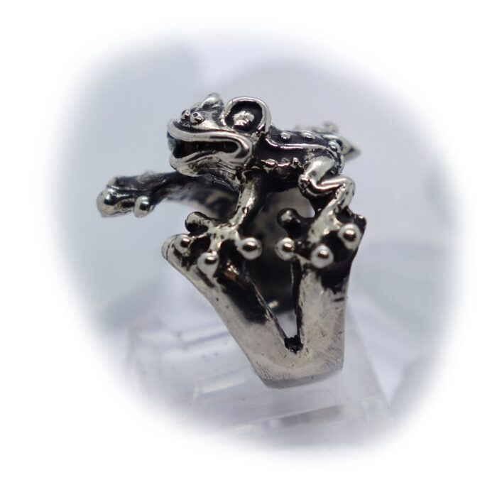 Frog Silver Ring V1 3