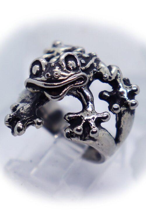 Frog Silver Ring V1