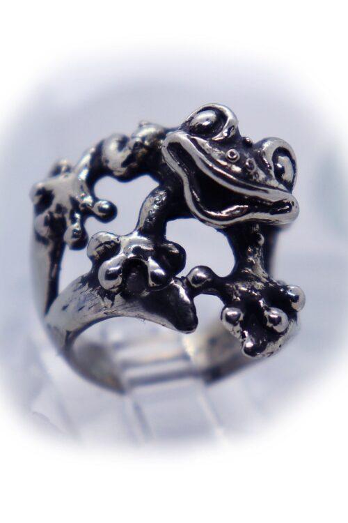 Frog Silver Ring V2